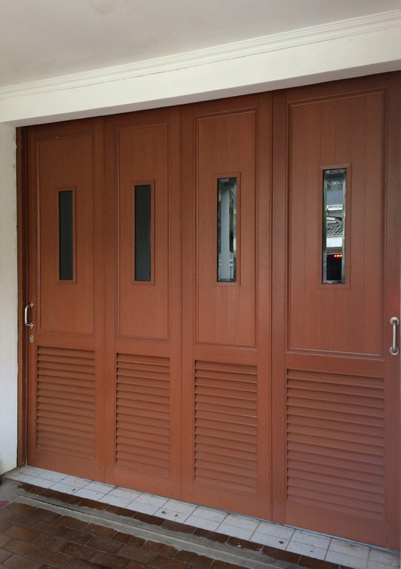 Garage door alucraft architectural products for Architectural garage doors